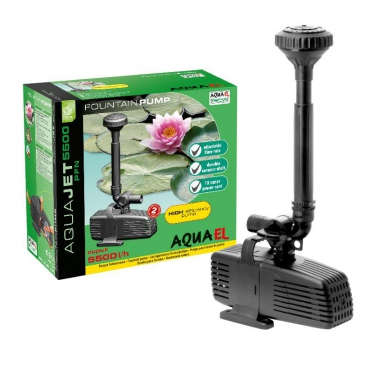 Помпа Aqua El фонтанная PFN  5500, 5500л/ч                                                       ― Aquatic World