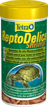 Корм для черепах ReptoMin Delica Shrimps 1000 мл                             ― Aquatic World