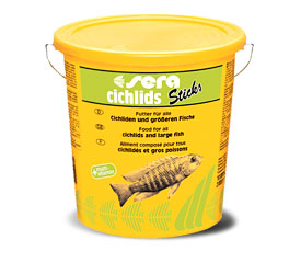 Корм для цихлид Sera Cichlids Sticks 10.0л, палочки                                                                                                                        ― Aquatic World